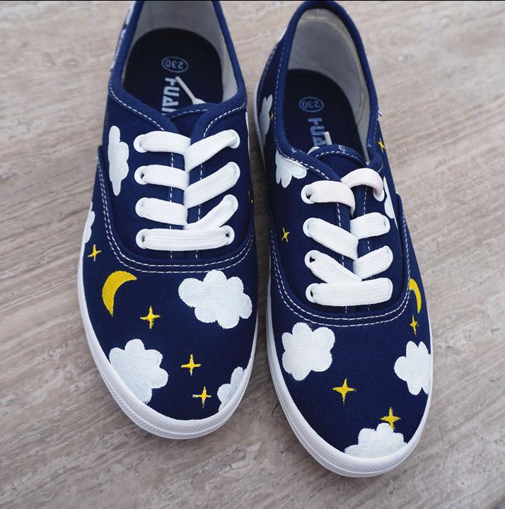 4ba3aaef1ff91 Japanese harajuku cute platform shoes canvas shoes from Women ...