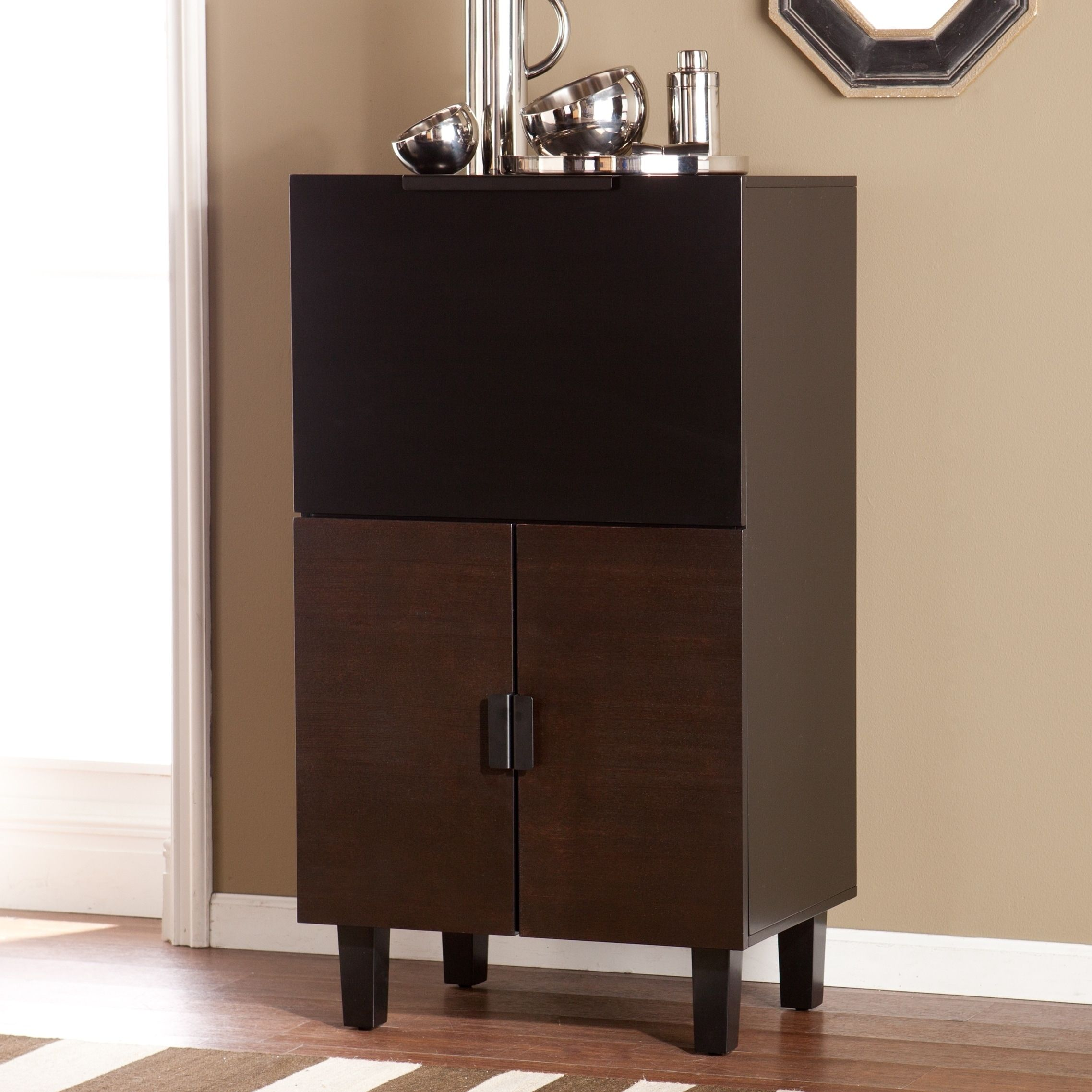 Harper Blvd Reynard Bar Cabinet | Overstock.com Shopping   The Best Deals  On Bars
