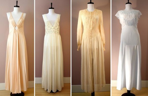 an absolutely ridiculous amount of love for these! all so so so so so beautifulllllll #vintage #nightwear