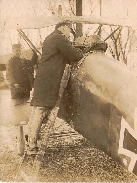 Lothar Von Richthofen And Emil Schaefer World War Red Baron World War I