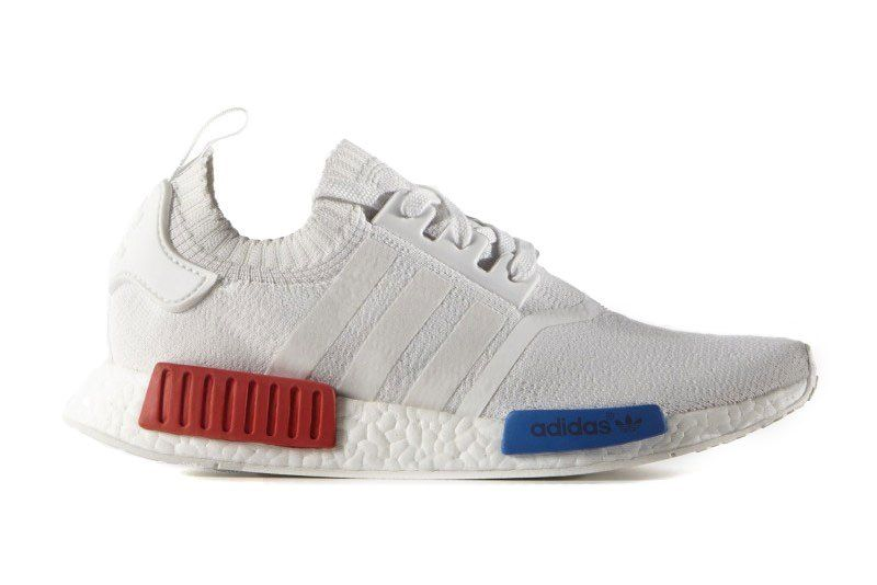 adidas\u0027s Red, White \u0026 Blue Primeknit NMDs Finally Have a Release Date
