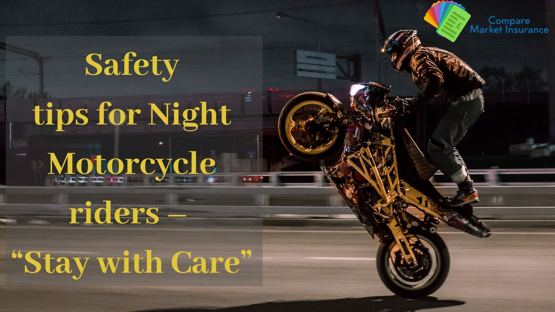 Are You Still Bearing A Threat To Drive A Motorcycle At Night