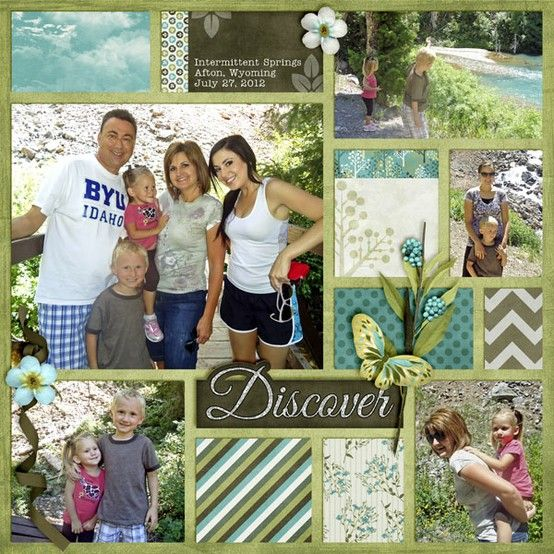 I Could Totally Make This: Nature Walk By Trixie Scraps Designs...I Could Totally