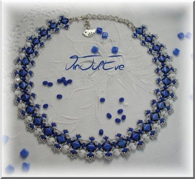 Necklaces, Necklace Sulya Scheme is a orginale creating Vinjuleve - creating a voucher