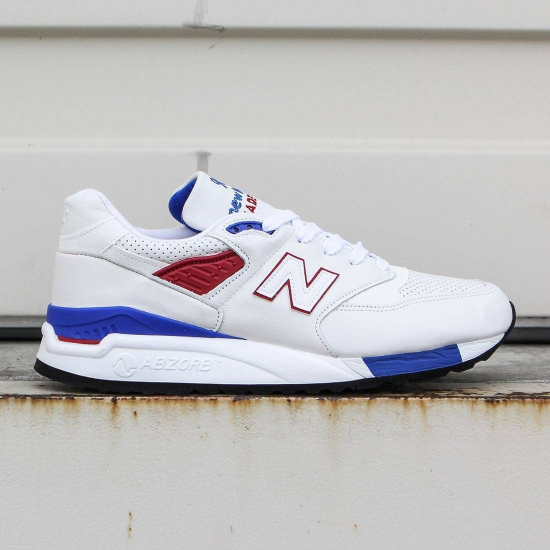 White New Balance 998 Made in USA Explore by Air