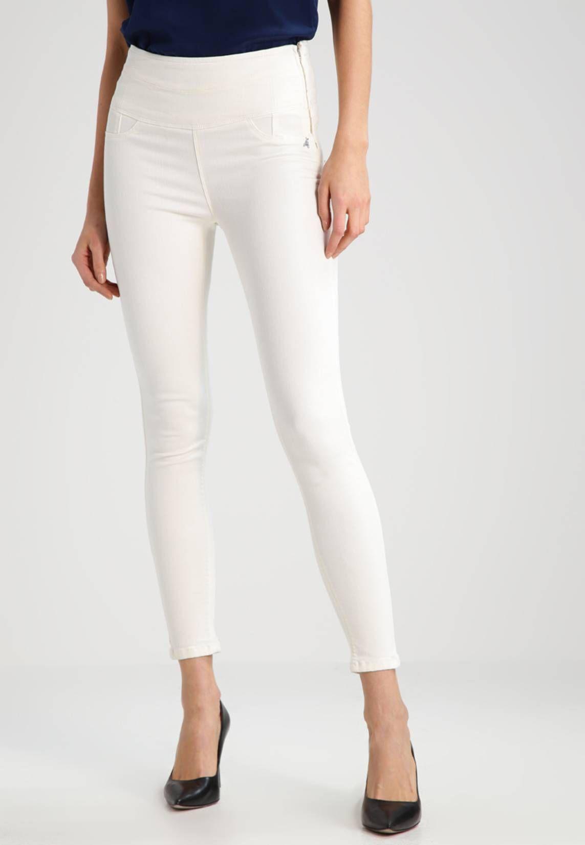 watch 47a66 6bc4c Jeans Skinny - bianco   Zalando ♥ Jeans blanc in 2019 ...