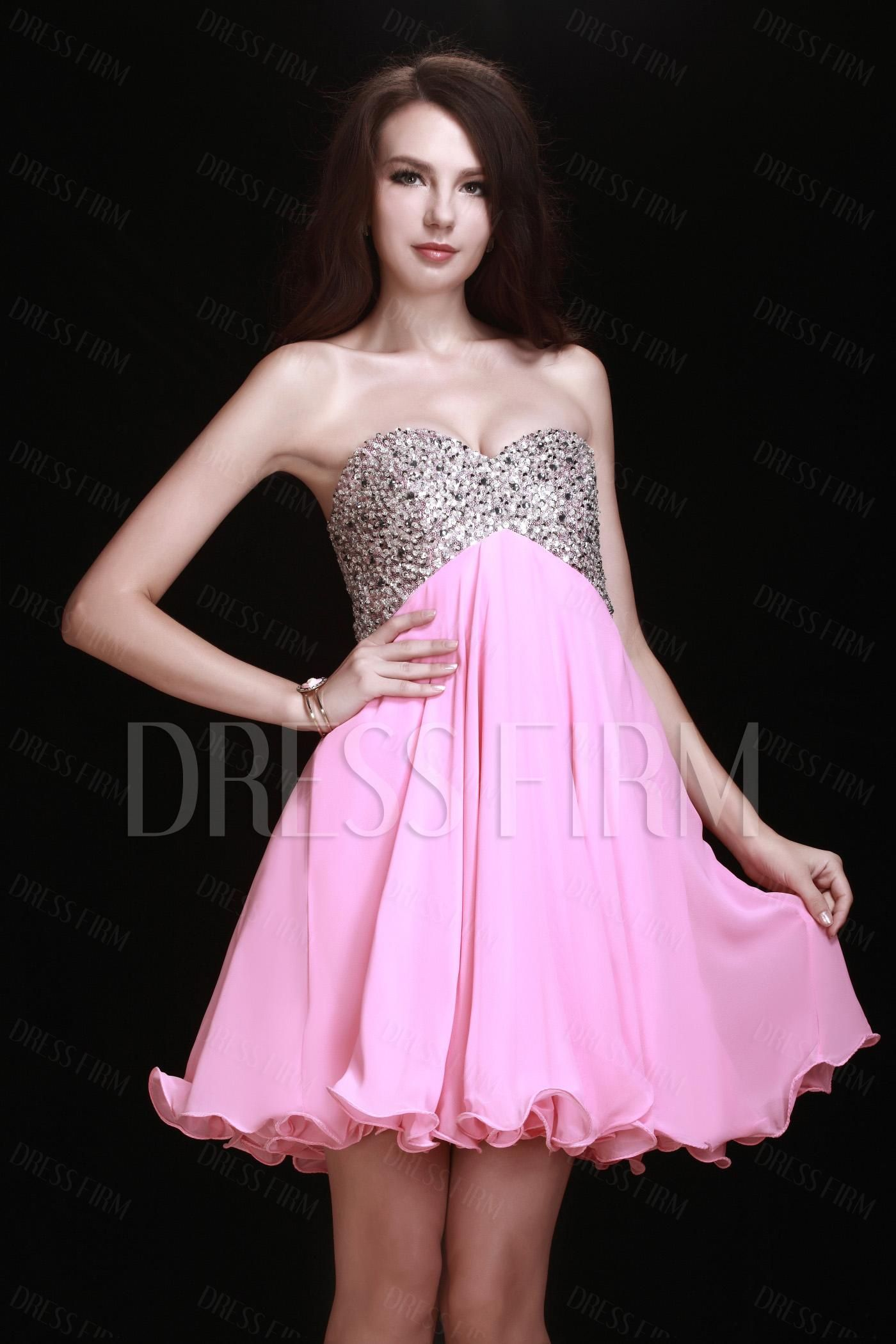 Gorgeous A-Line Sweetheart-Neckline Mini/Short Lubas Homecoming Prom ...
