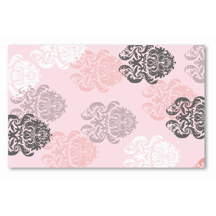Hand Hooked Cotton Pink Area Rug Pink Rug Area Rugs Pink