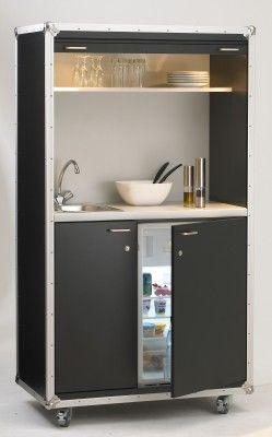 Schrankküche pro art case kitchen heavy - auf Rollen | Living ... | {Schrankküche 0}