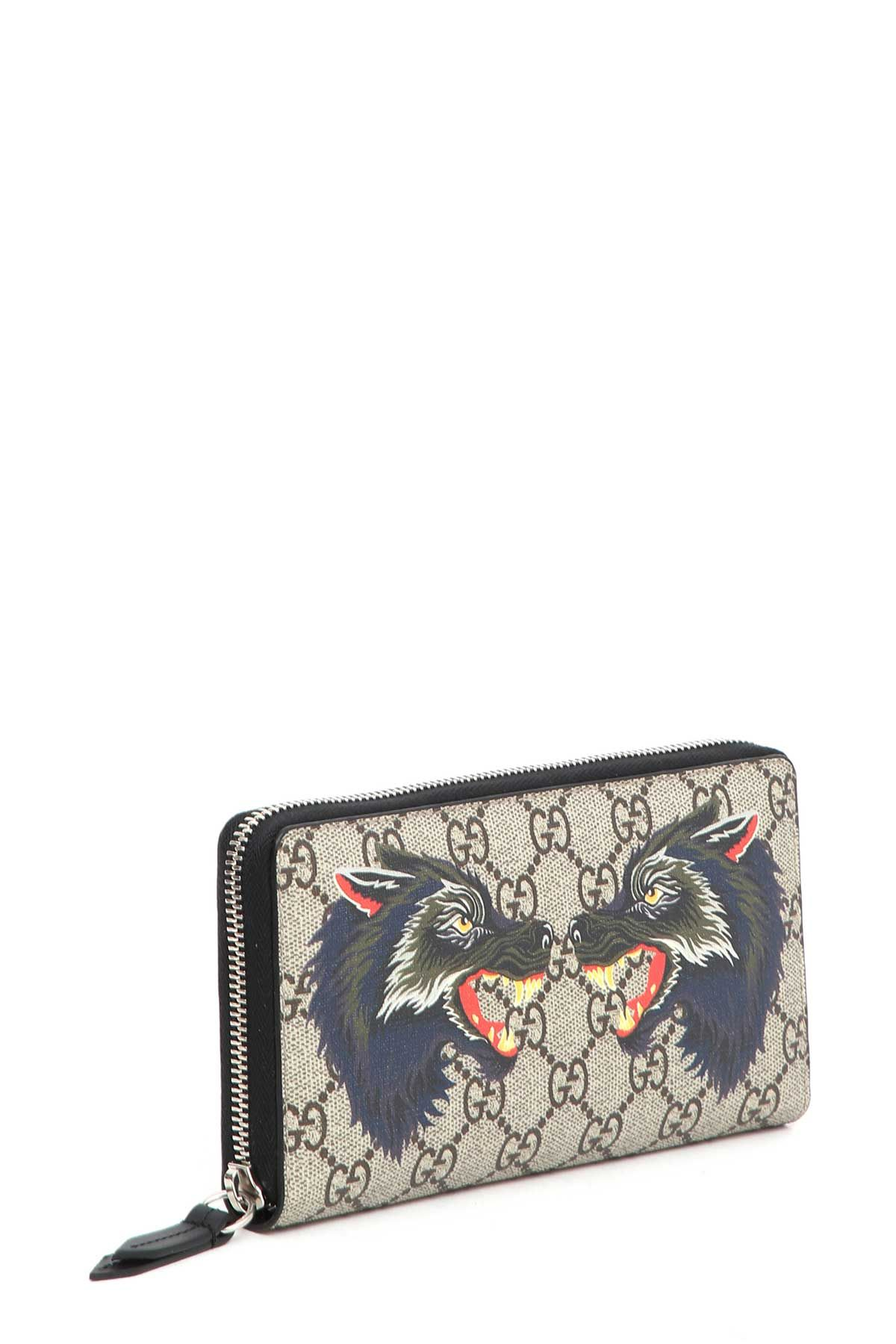 723104a39647 GUCCI WALLET WITH WOLF PRINT. #gucci # | Gucci Men | Gucci wallet ...