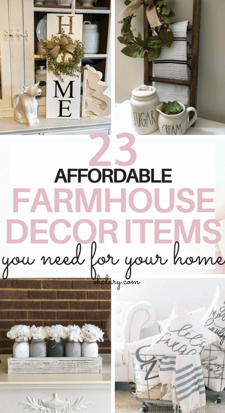 23 Cheap Farmhouse Decor Items   Where To Buy Farmhouse Decor On A Budget |  Farmhouse Wall Art, Vintage Farmhouse Decor And Modern Farmhouse Decor