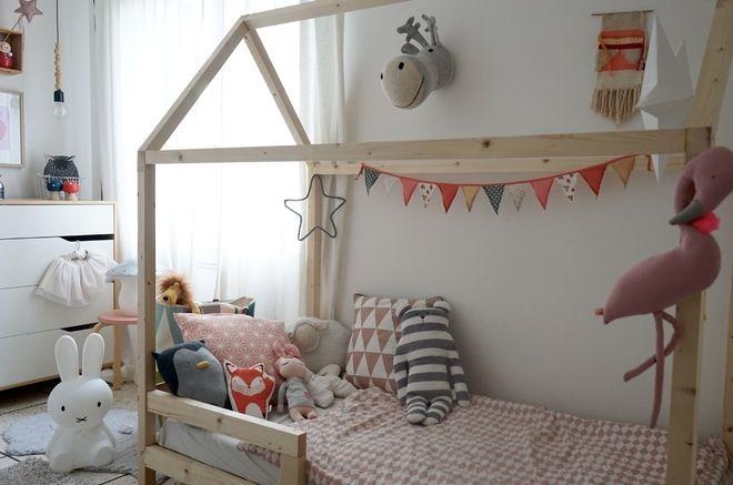 DIY : fabriquer un lit cabane. Scandinave Chambre d\'Enfant by ...