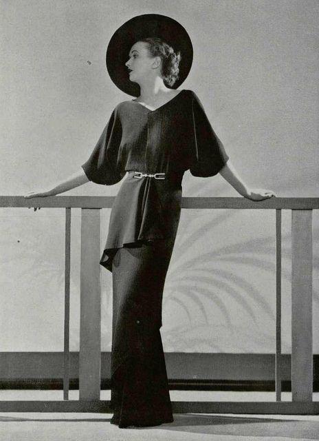 robe du soir 1935