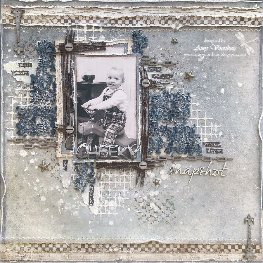 Scrapbook ideas without pictures - Hello Lovelies Today I Am Sharing A Masculine 12x12 Layout Which For Me Is A