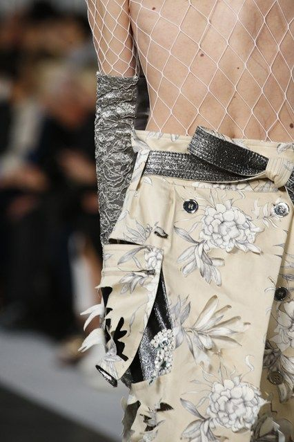John Galliano for Maison Margiela SS 2016 Defile ,  Look 10 ,  Details
