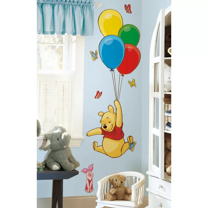 Pooh And Piglet Wall Decal In 2021 Nursery Wall Stickers Baby Wall Stickers Winnie The Pooh Nursery