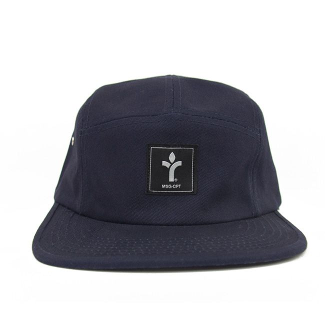 f3a3edbc0f6 Acrylick - Icon Square - Dark Blue - Five Panel Camper Hat