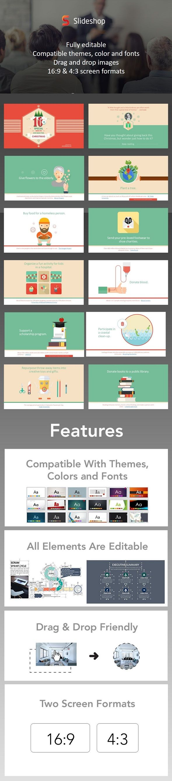 How to give back this christmas presentation templates power how to give back this christmas presentation templatespresentation toneelgroepblik Gallery