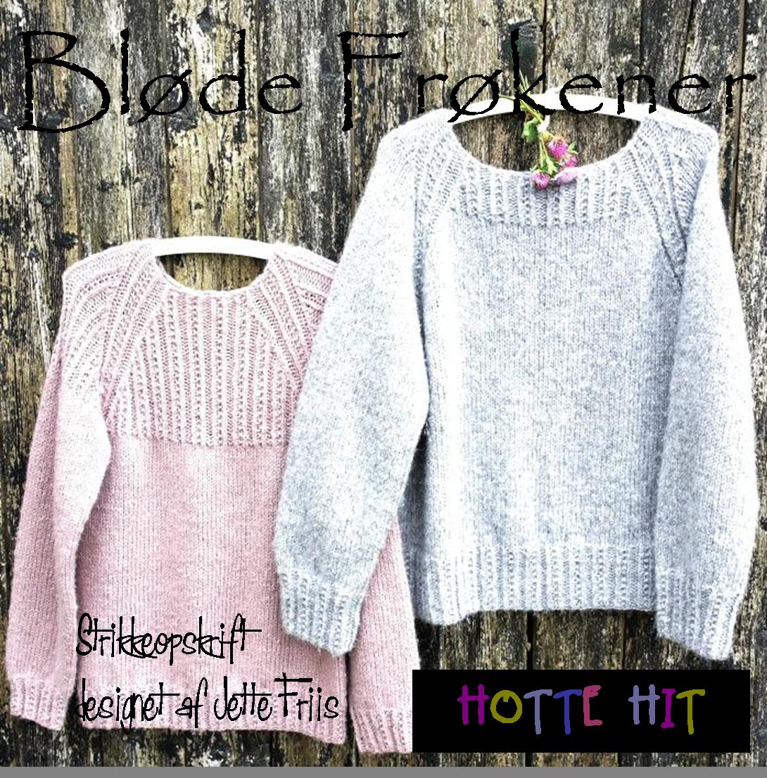 Strikkeopskrift Bløde Frøkener. 2 dejlige vamsede bløde sweatre, strikket i Puno fra Gepard Garn. Køb som E-bog, print eller køb hele kittet. #gepardgarn #gepardyarn #puno #sweater #handknitting #knittingpattern #danishdesign #strikkeopskrift