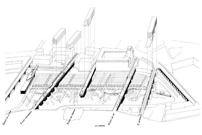Bernard Tschumi Architects Arch B W Pinterest Bernard