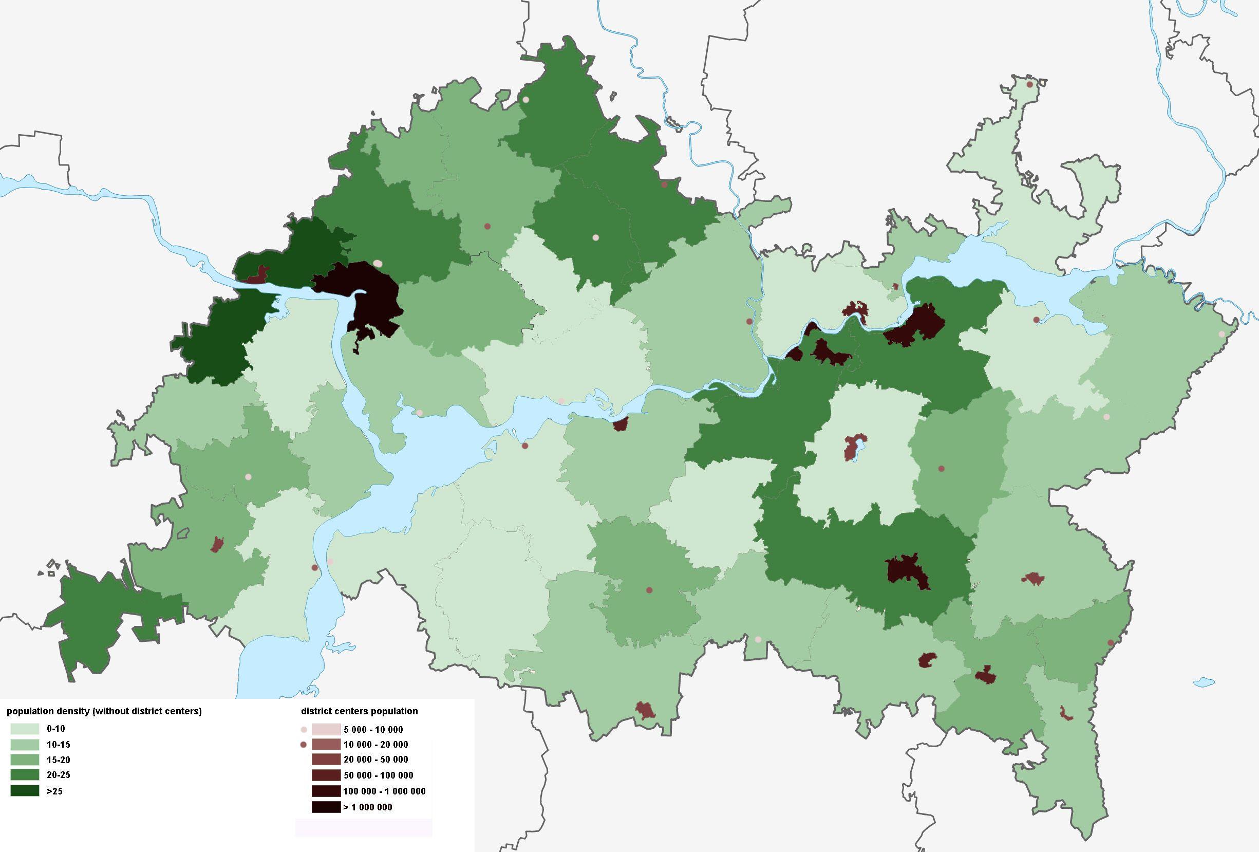 Tatarstan Russia population density Tatarstan Russia population