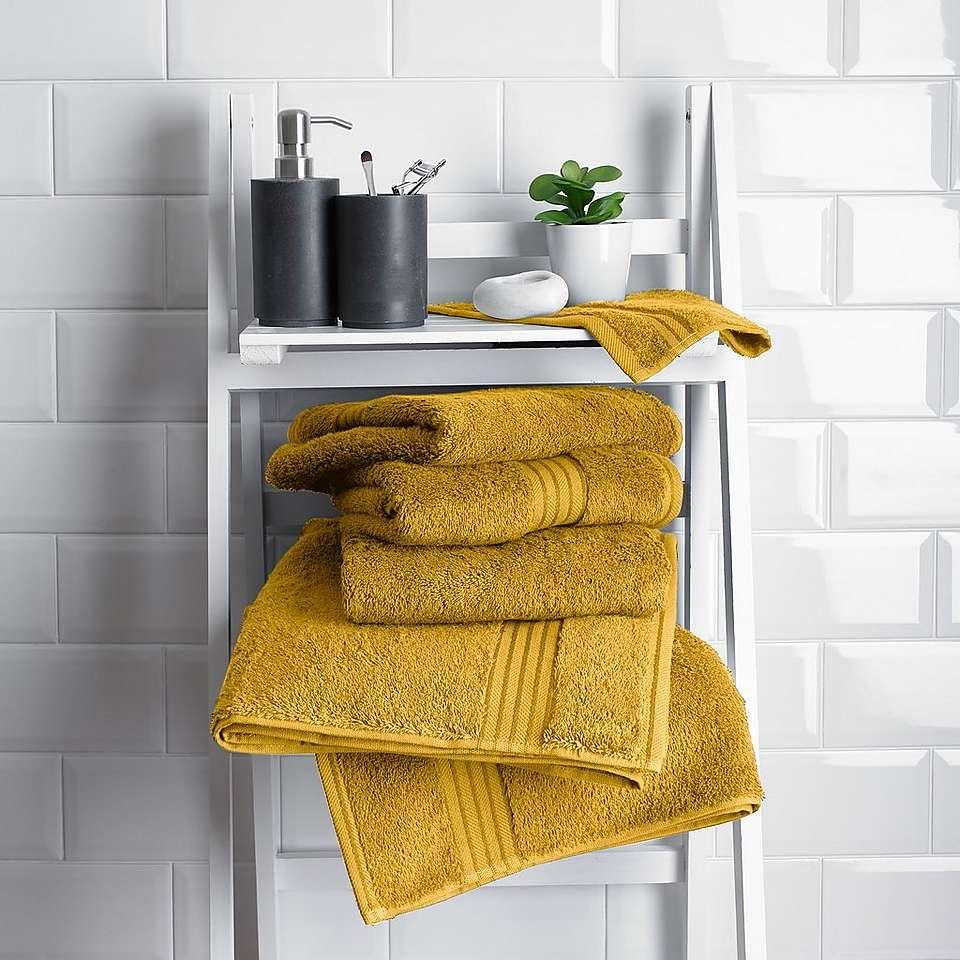Mustard Egyptian Cotton Towel In 2020 Egyptian Cotton Towels Cotton Towels Green Towels