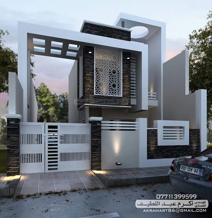Jaalie | Facade house, House front design, Modern house design on front of house storage, front of house trees, front of house landscaping, front of house awards, front of house signs, front of house decor, front of house lighting,