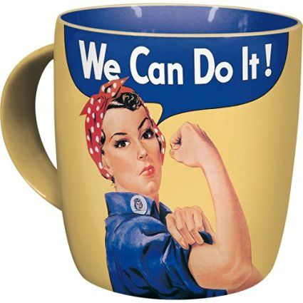Nostalgic Art 43013 USA, We can do it Tasse