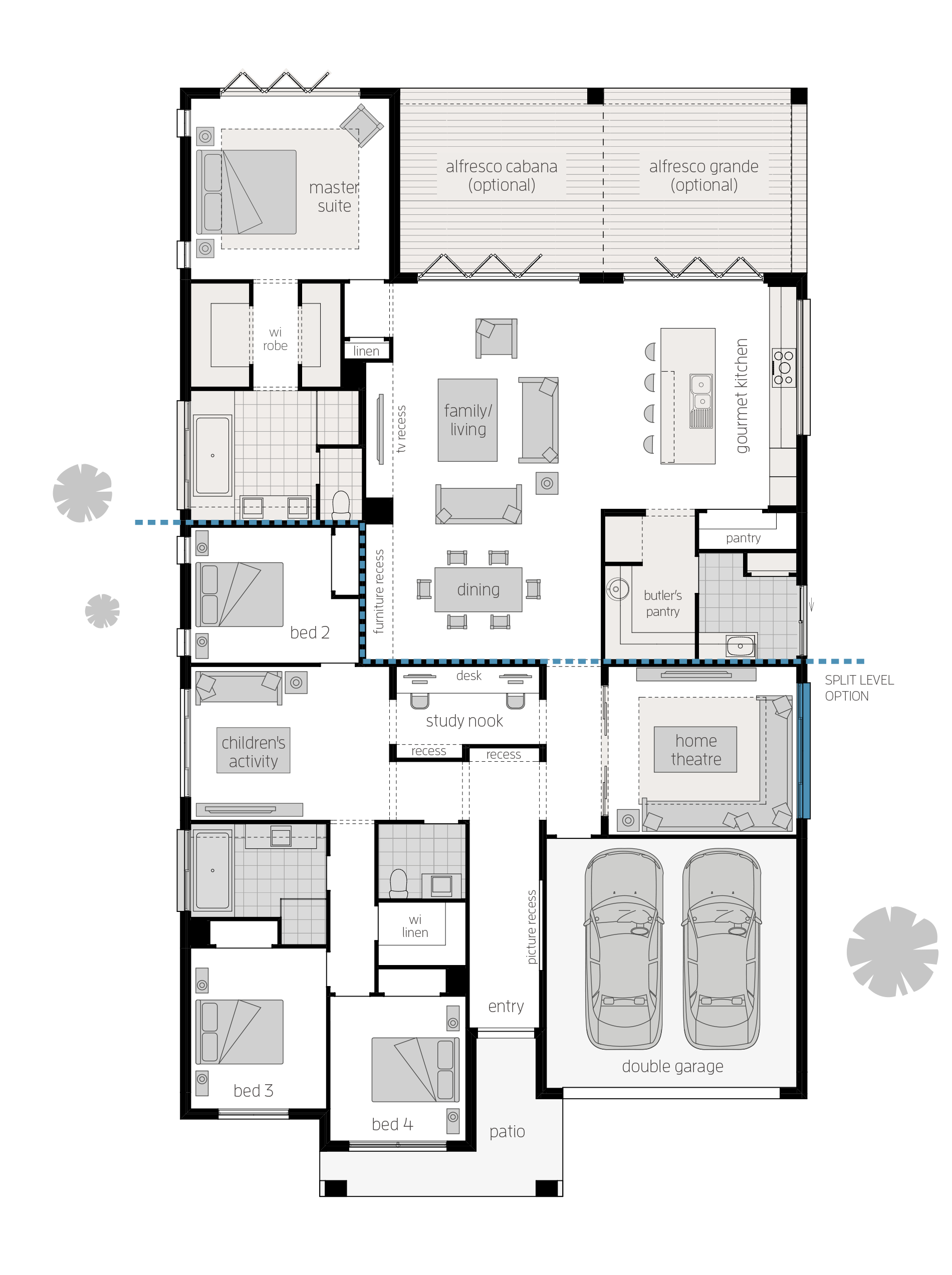 Miami 16 Executive Upgrades Floor Plan By Mcdonald Jones House Floor Plans House Plans Eco House Plans