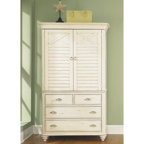 Liberty Furniture Ocean Isle Armoire 303 BR43 By Liberty. $1205.93. Top And  Base
