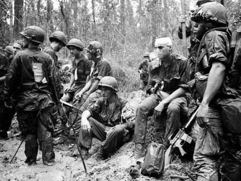 Us marines vietnam google search us marines our elite wounded american gis await evacuation after a firefight in vietnam in heroism was in no short supply during the vietnam war neither were medals recognizing sciox Image collections