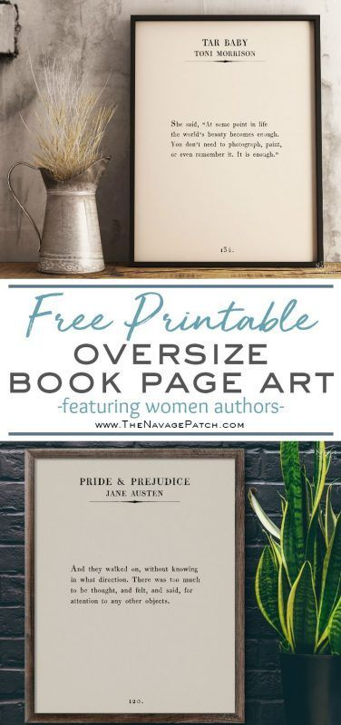 Oversize Book Page Wall Art: Women of the Word | Planning and ...