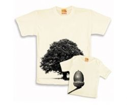 Wish I'd seen this for Father's day! Birthday perhaps? Oak Tree Twinset Organic Cotton T shirt (Dad)