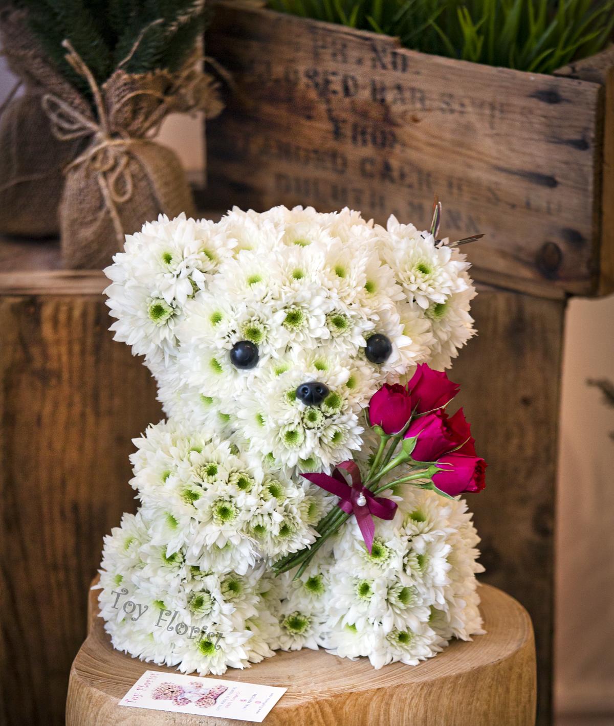 Unique Floral Design Ideas: Unique Gifts Made Of Fresh Flowers