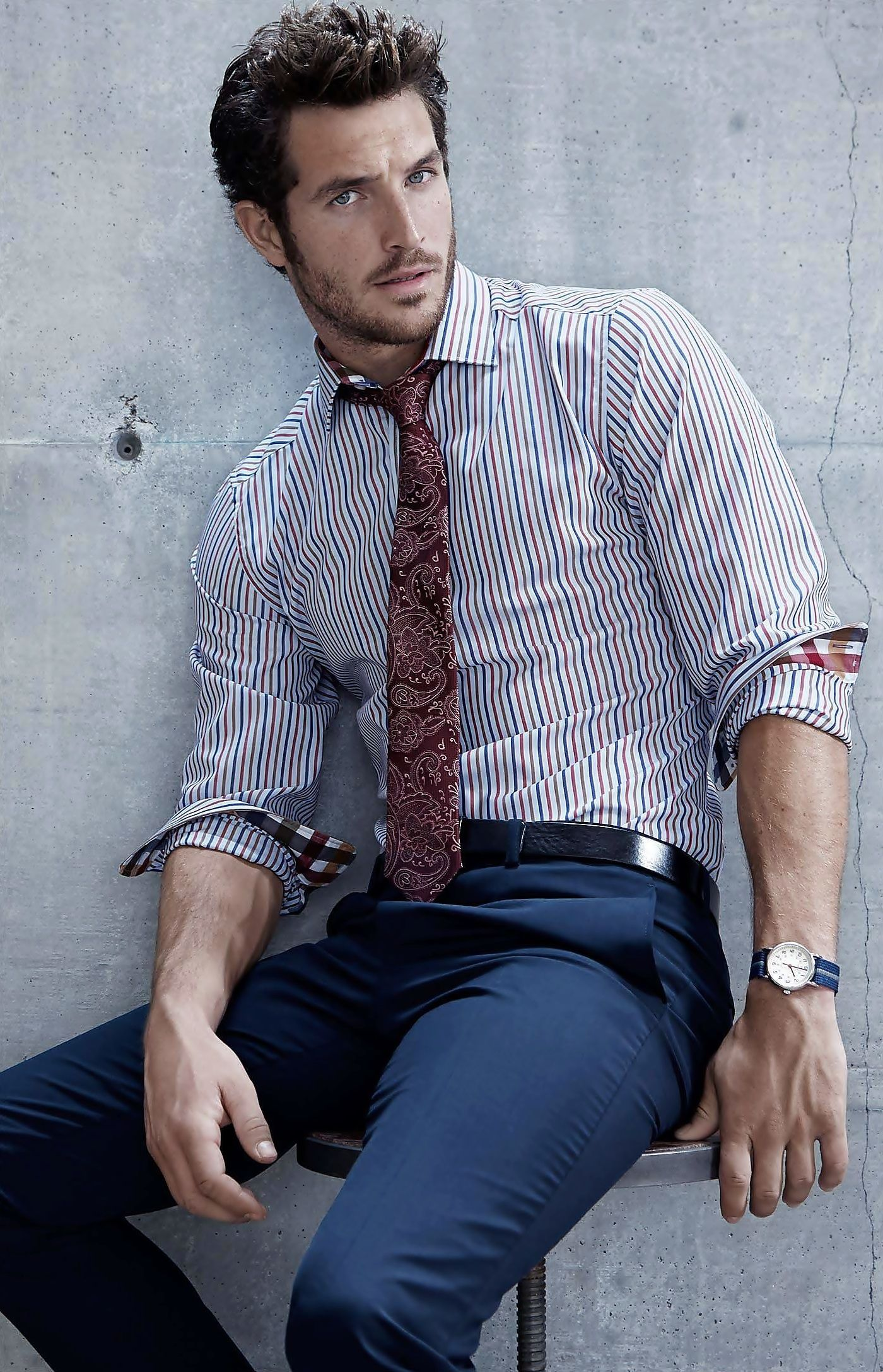 Flannel outfit ideas men  Lines red wine blue  Fashion  Pinterest  Red wines Wine and