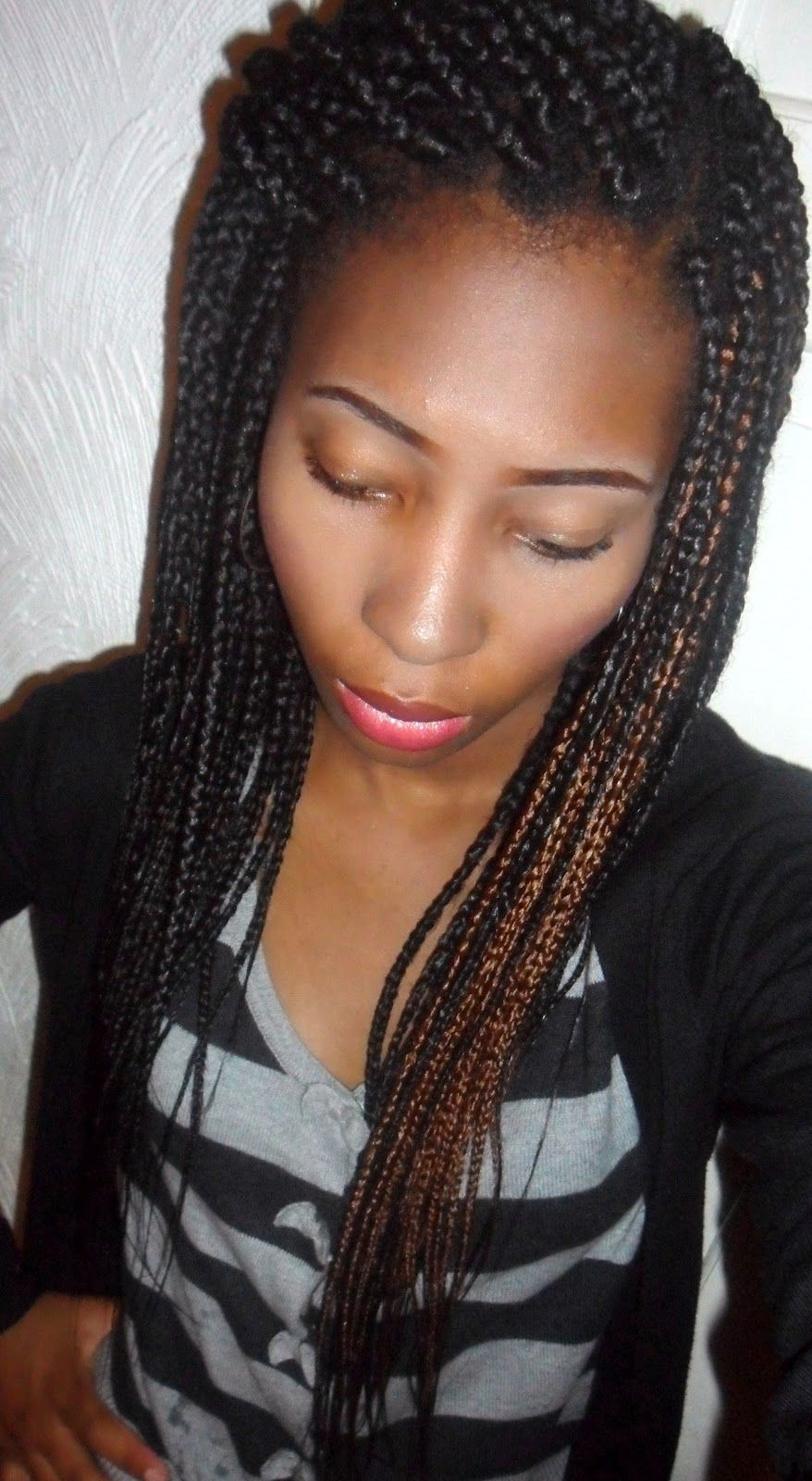 long braids | ... these are called box braids or single ...