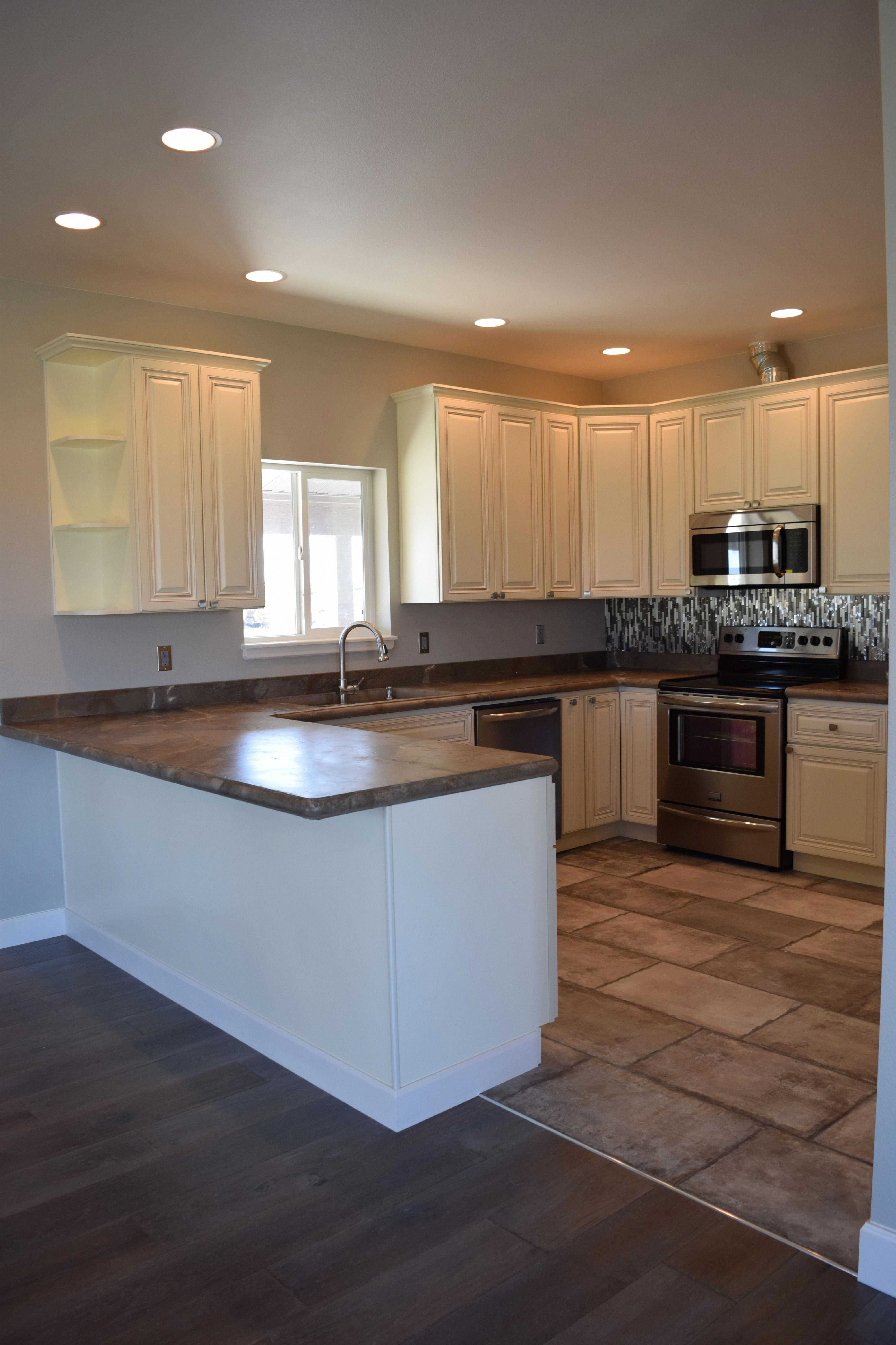 this kitchen has the same layout as ours easy updates