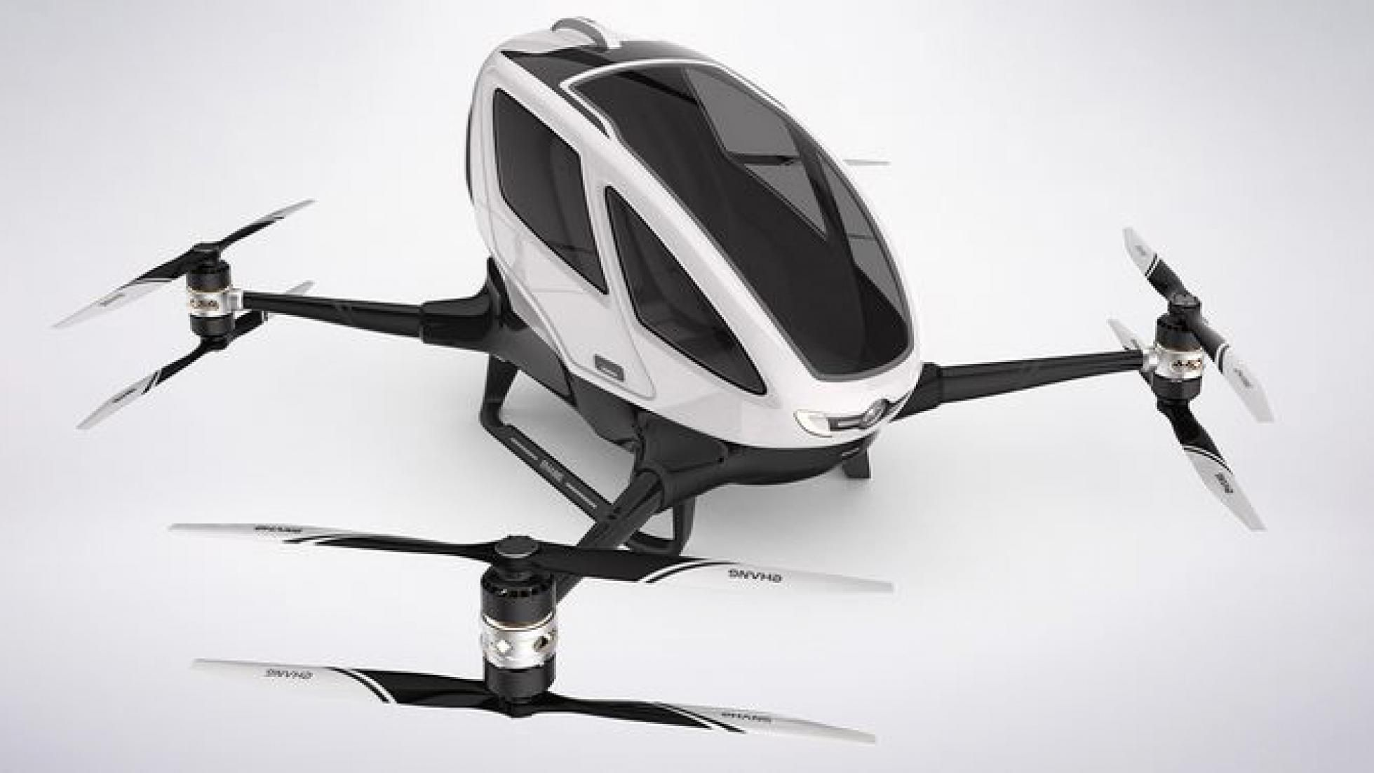 Introducing the world's first passenger drone Drone news