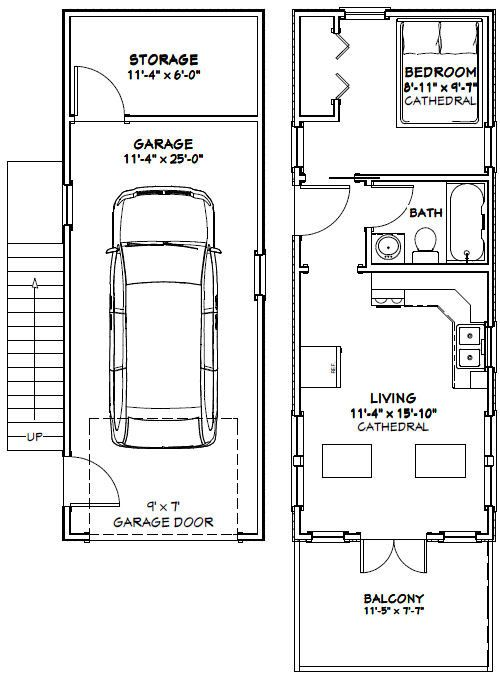 12x32 1 Bedroom Tiny Houses Pdf Floorplans 461 Sq Ft Tiny House Floor Plans Cabin Floor Plans Tiny House Plans