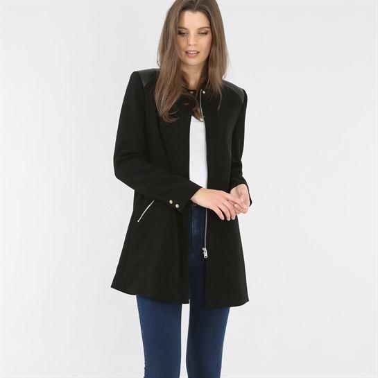 Veste en jean longue femme pimkie