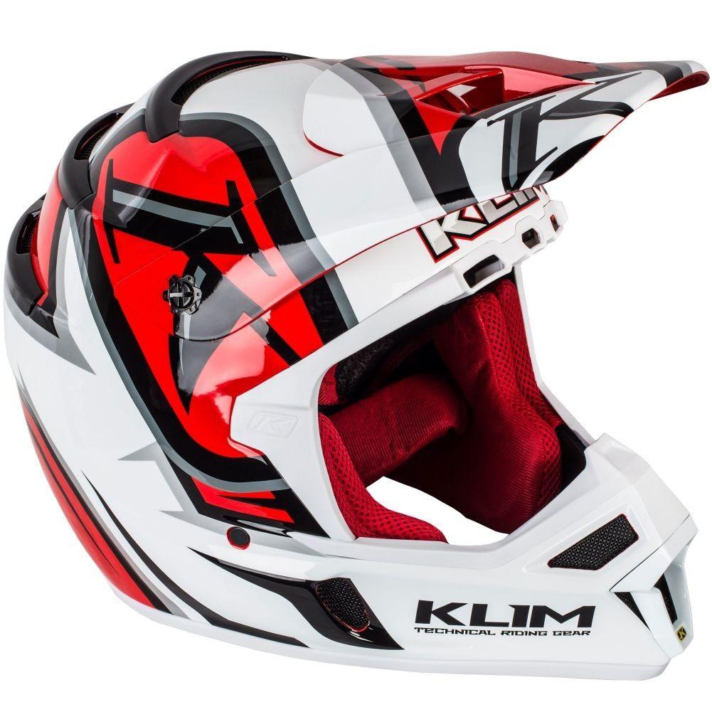 981a0b99ea9f0 Klim F4 ECE Radar Motocross Helmet Cascos De Motocross