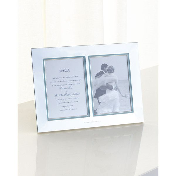 kate spade new york Double Invitation Frame ($100) ❤ liked on ...