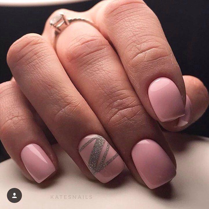 Nail Art #3446 - Best Nail Art Designs Gallery | Pale pink nails ...