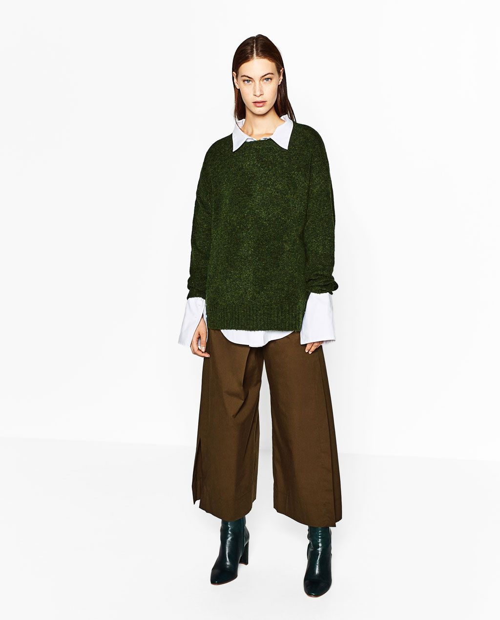 I love a good oversized sweater - and the color on this ones ...