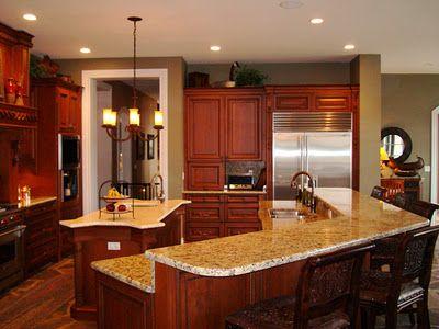 Decoraciones al extremo Cocinas elegantes para este 2012 Cocinas - cocinas elegantes