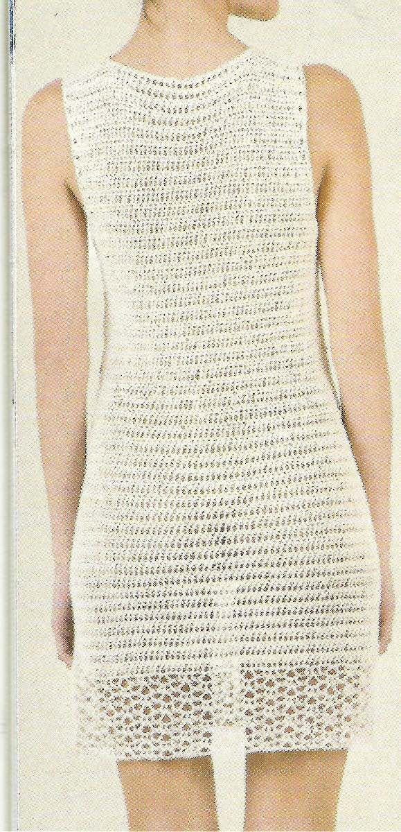 Tejidos Artesanales A Crochet: Minivestido!! - $ 700,00 en ...