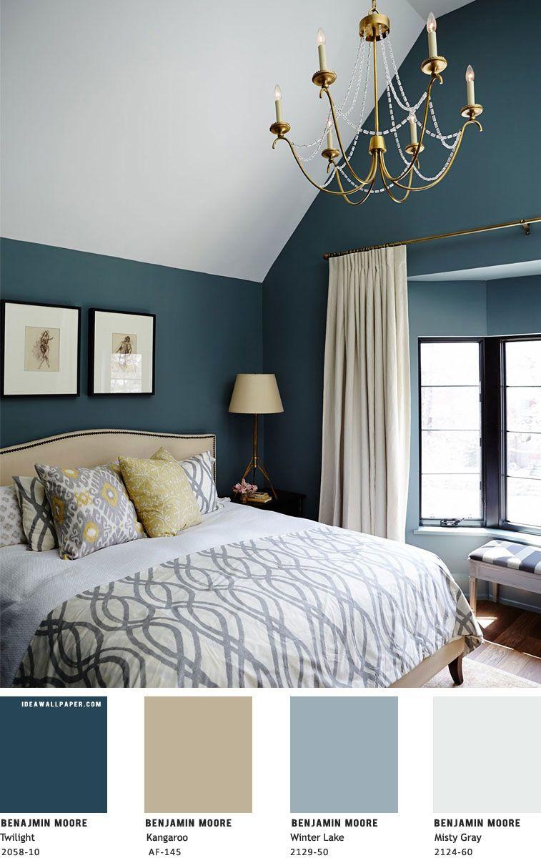 beautiful bedroom color scheme  benjamin moore   idea
