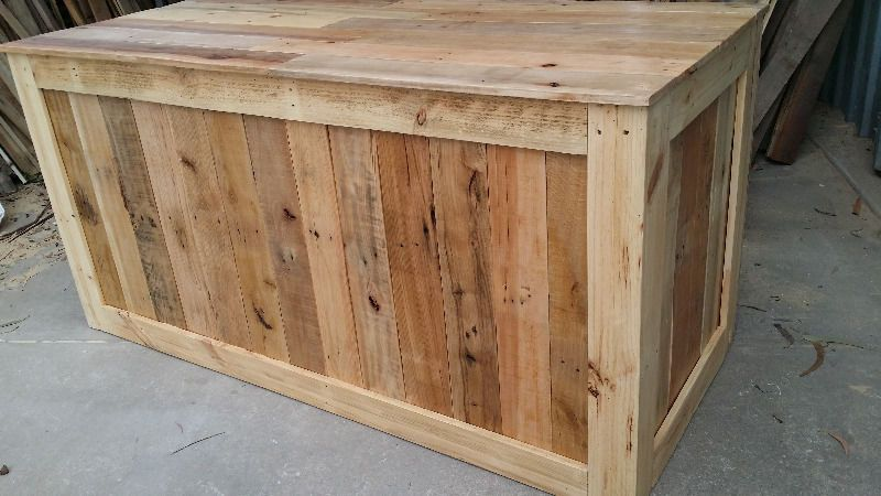 pallet countertop epoxy shop counter bar or kitchen cupboard made to measure from pallet