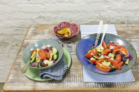 Salada grega | Panelinha - Receitas que funcionam